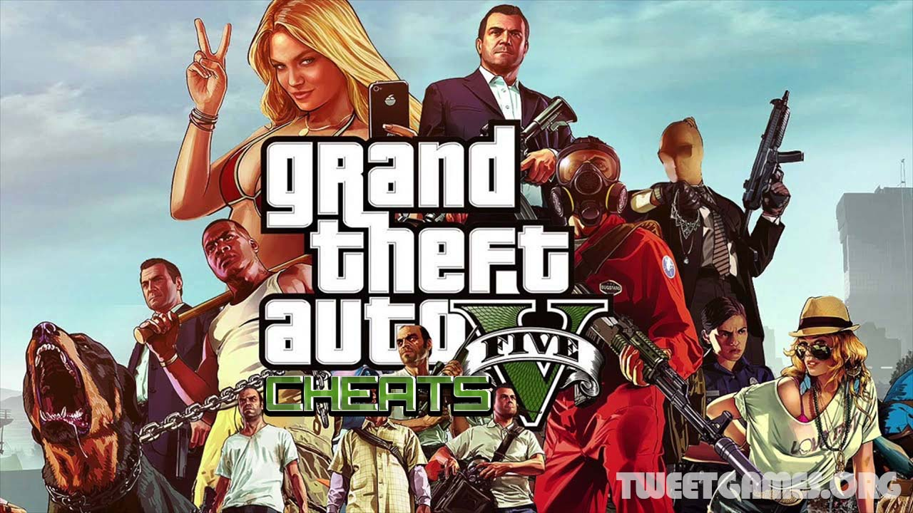 GTA 5 cheats PS3, PS4, Xbox 360 and Xbox One | TweetsGames com