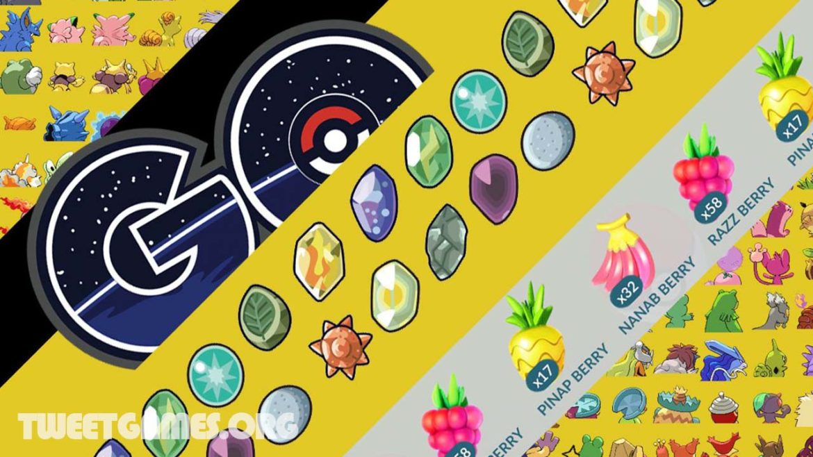 Pokemon go upgrade items