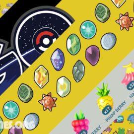 Pokemon go upgrade items