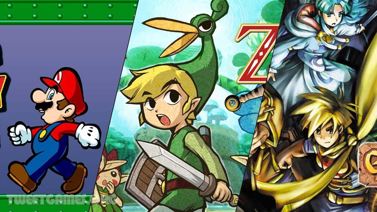 Top 30 Best GBA games - tweetsgames com